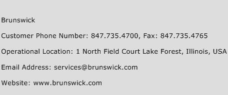 Brunswick Phone Number Customer Service