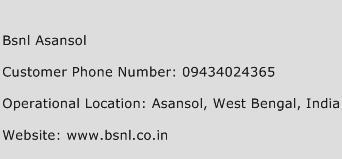 Bsnl Asansol Phone Number Customer Service