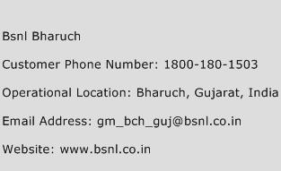 Bsnl Bharuch Phone Number Customer Service