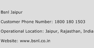 Bsnl Jaipur Phone Number Customer Service