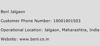 Bsnl Jalgaon Phone Number Customer Service