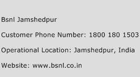 Bsnl Jamshedpur Phone Number Customer Service