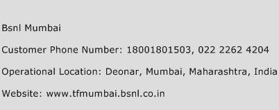 Bsnl Mumbai Phone Number Customer Service