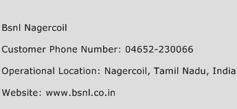 Bsnl Nagercoil Phone Number Customer Service