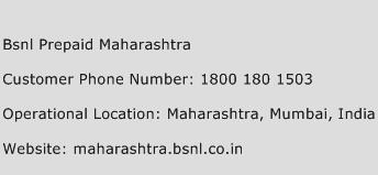 Bsnl Prepaid Maharashtra Phone Number Customer Service