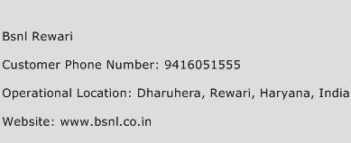 Bsnl Rewari Phone Number Customer Service