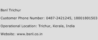 Bsnl Trichur Phone Number Customer Service