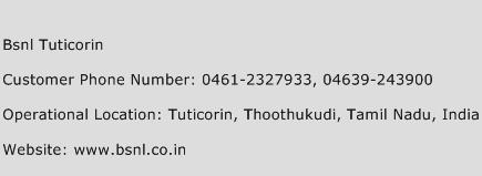 Bsnl Tuticorin Phone Number Customer Service