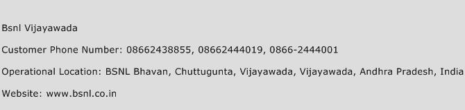 Bsnl Vijayawada Phone Number Customer Service