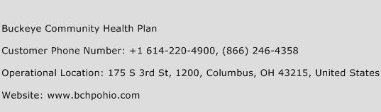 Buckeye Community Health Plan Phone Number Customer Service