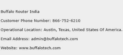 Buffalo Router India Phone Number Customer Service