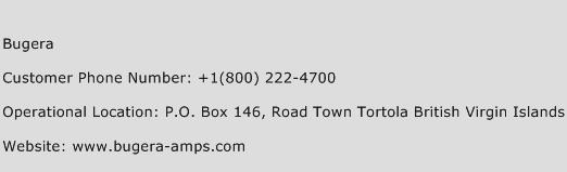 Bugera Phone Number Customer Service