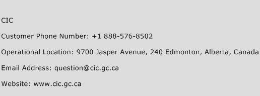 Cic Phone Number >> Cic Number Cic Customer Service Phone Number Cic Contact Number