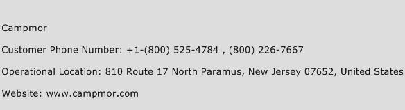 Campmor Phone Number Customer Service