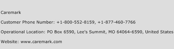Caremark Customer Service Number | Toll Free Phone Number of Caremark