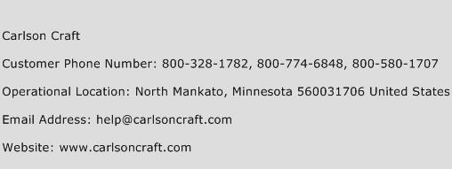 Carlson Craft Phone Number Customer Service