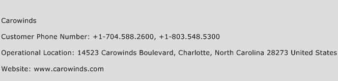 Carowinds Phone Number Customer Service