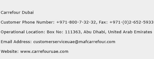 Carrefour Dubai Phone Number Customer Service