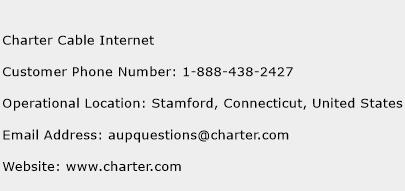 Charter Cable Internet Phone Number Customer Service