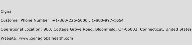Cigna Phone Number Customer Service