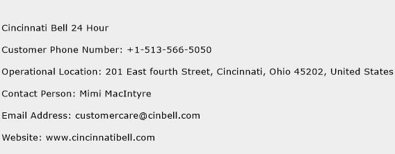 Cincinnati Bell 24 Hour Phone Number Customer Service