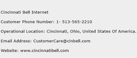 Cincinnati Bell Internet Phone Number Customer Service