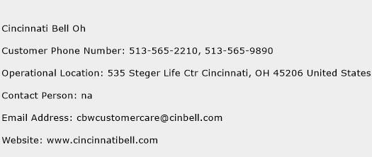 Cincinnati Bell Oh Phone Number Customer Service