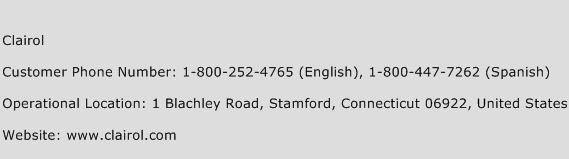 Clairol Phone Number Customer Service