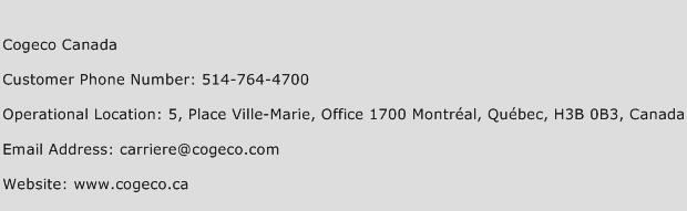 Cogeco Canada Phone Number Customer Service