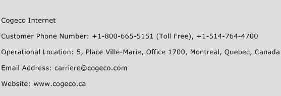 Cogeco Internet Phone Number Customer Service