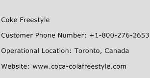 Coke Freestyle Phone Number Customer Service