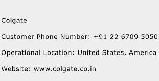 Colgate Phone Number Customer Service