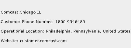 Comcast Chicago IL Phone Number Customer Service