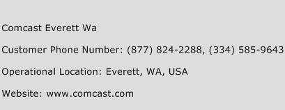 Comcast Everett Wa Customer Service Phone Number | Contact Number ...
