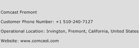 Comcast Fremont Phone Number Customer Service