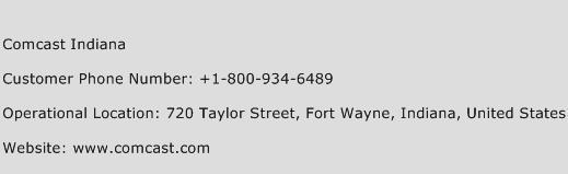 Comcast Indiana Phone Number Customer Service