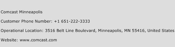 Comcast Minneapolis Phone Number Customer Service