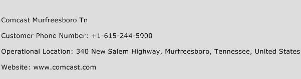 Comcast Murfreesboro Tn Phone Number Customer Service