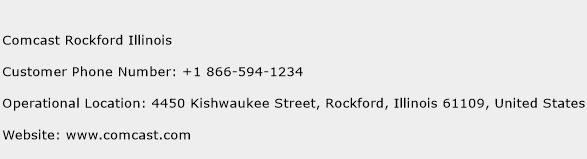 Comcast Rockford Illinois Phone Number Customer Service