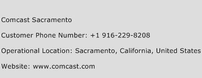 Comcast Sacramento Phone Number Customer Service