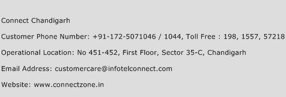Connect Chandigarh Phone Number Customer Service