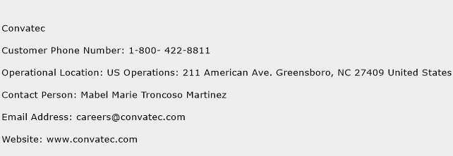 Convatec Phone Number Customer Service