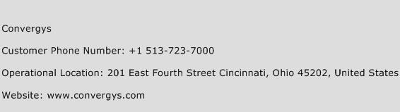 Convergys Phone Number Customer Service