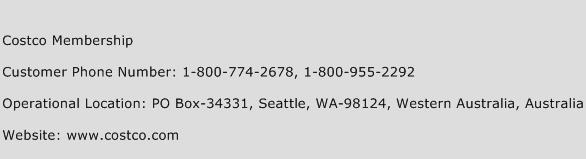 Costco Membership Phone Number Customer Service