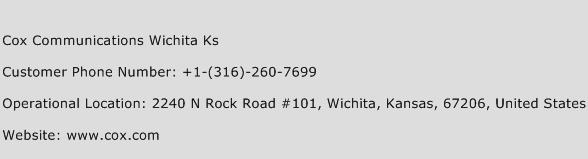 Cox Communications Wichita Ks Phone Number Customer Service