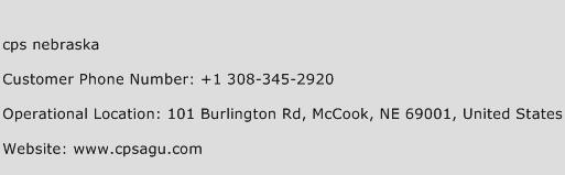 Cps Nebraska Phone Number Customer Service