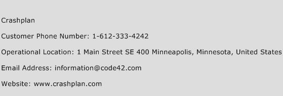 Crashplan Phone Number Customer Service