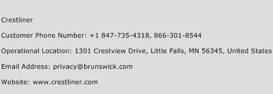 Crestliner Phone Number Customer Service