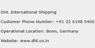 DHL International Shipping Phone Number Customer Service