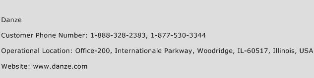 Danze Phone Number Customer Service